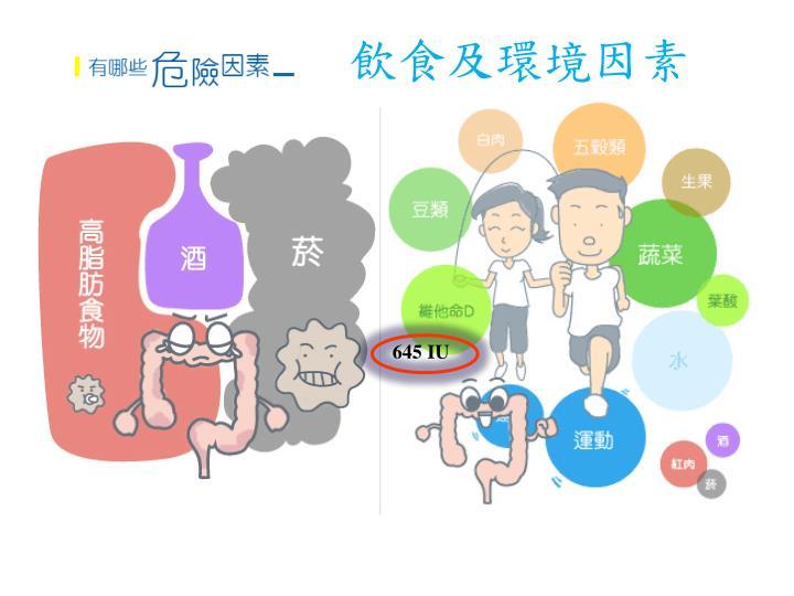 飲食及環境因素