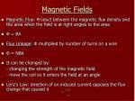 magnetic fields10