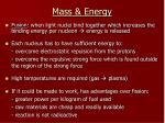 mass energy2