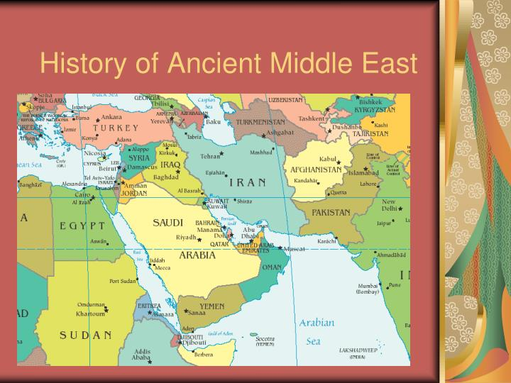 history of ancient middle east