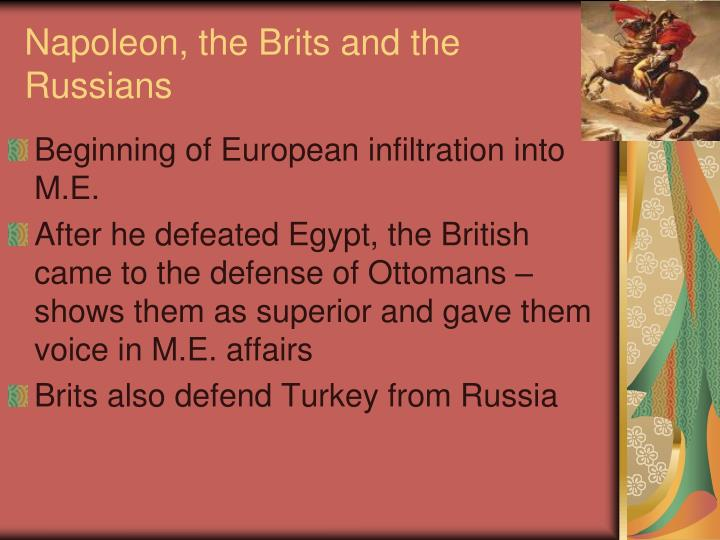 Napoleon, the Brits and the Russians