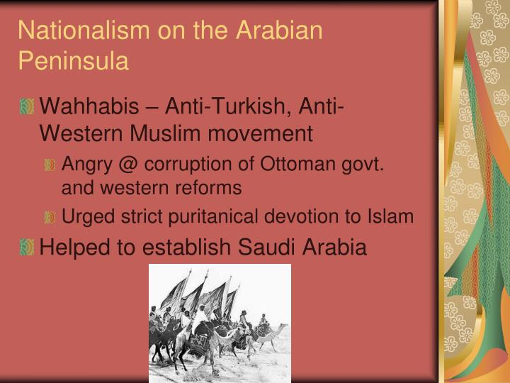 Nationalism on the Arabian Peninsula
