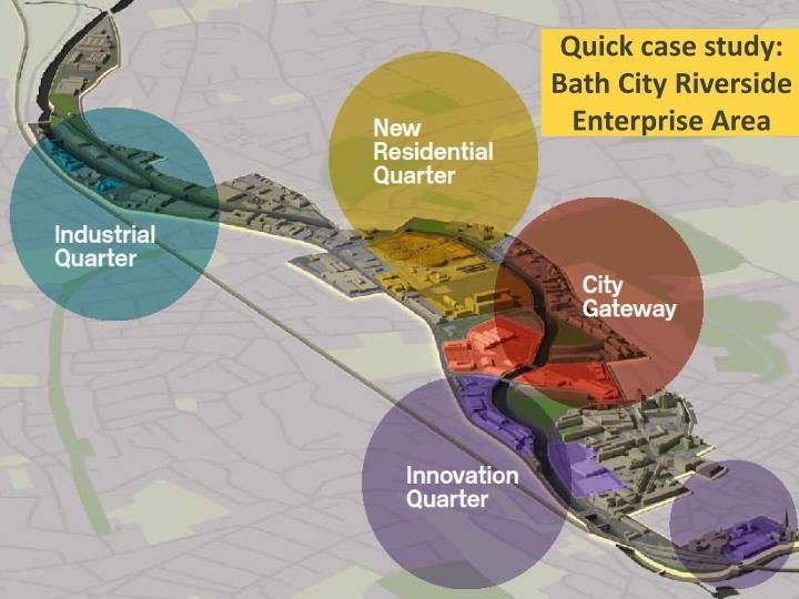 Quick case study: Bath City Riverside Enterprise Area