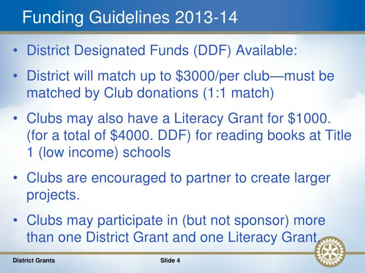 Funding Guidelines 2013-14
