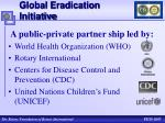 global eradication initiative