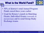 what is the world fund1