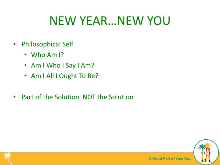 NEW YEAR…NEW YOU