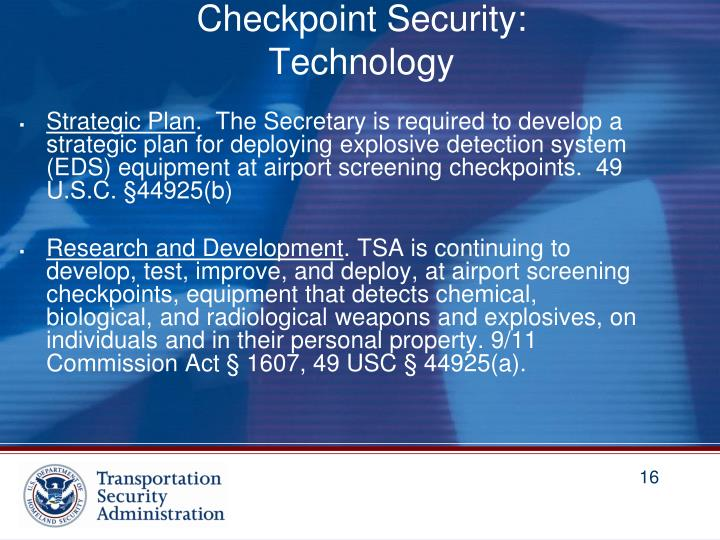 Checkpoint Security: