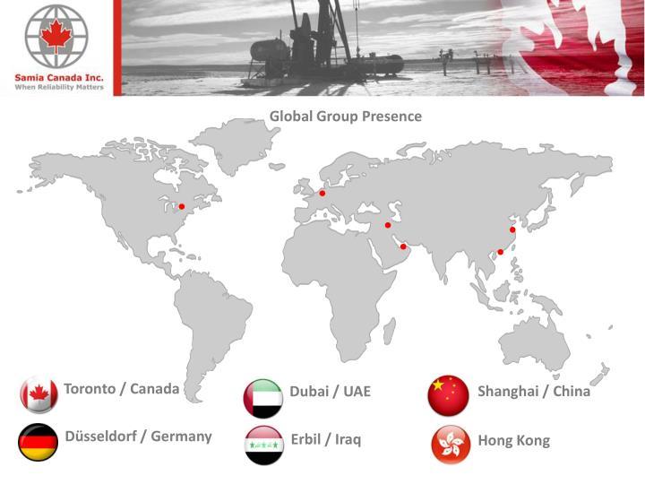 Global Group Presence