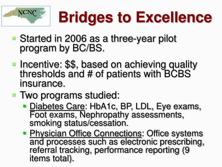 Bridges to Excellence