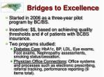 bridges to excellence