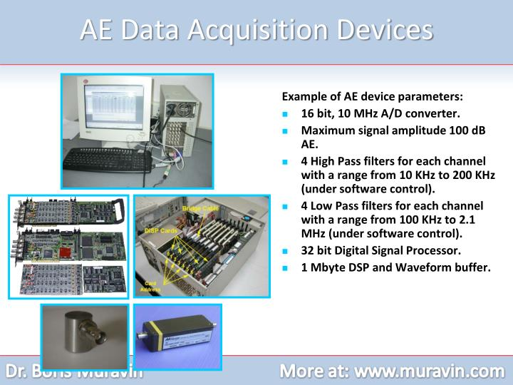AE Data Acquisition Devices