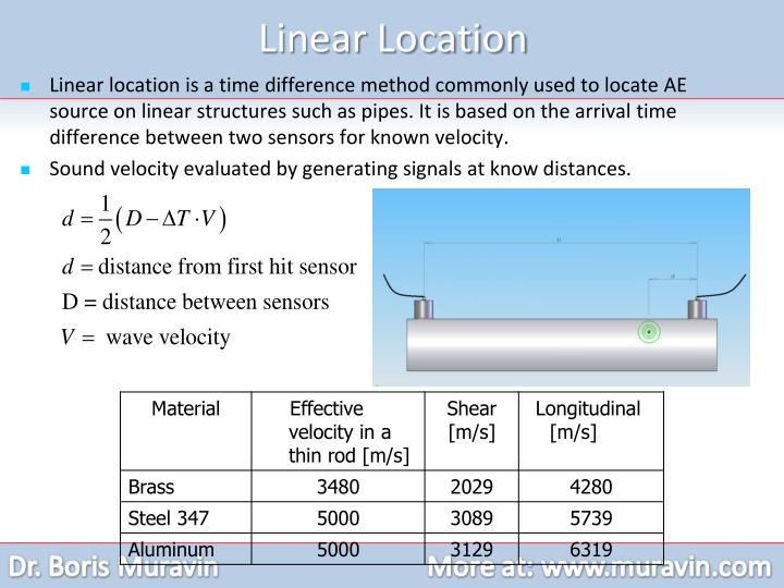 Linear Location