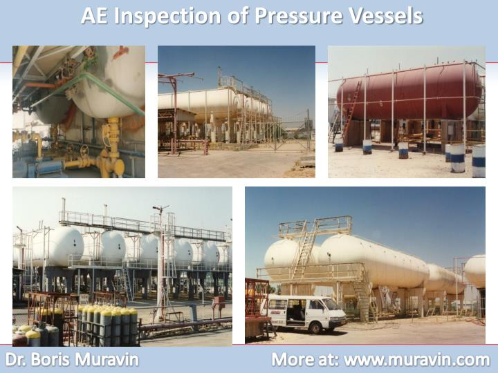 AE Inspection of Pressure Vessels