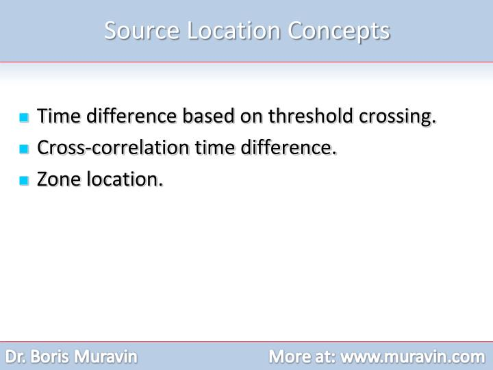 Source Location Concepts
