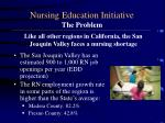 nursing education initiative the problem1