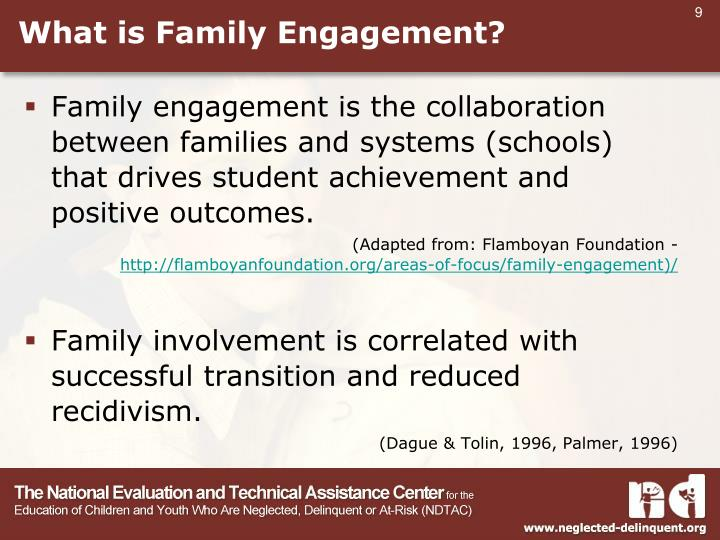 What is Family Engagement?