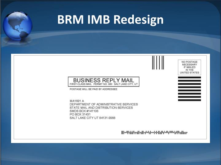 BRM IMB Redesign