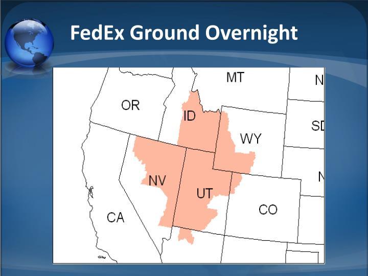 FedEx Ground Overnight