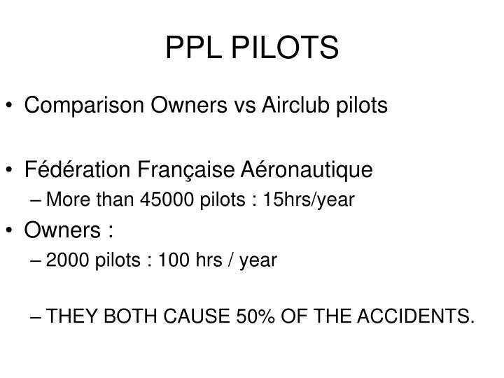PPL PILOTS