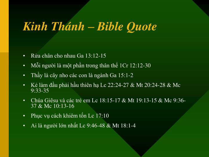 Kinh Thánh – Bible Quote