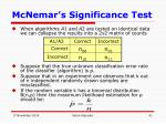 mcnemar s significance test