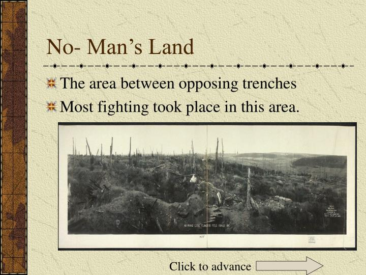 No- Man's Land