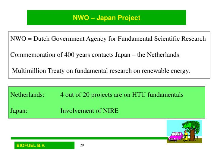 NWO – Japan Project