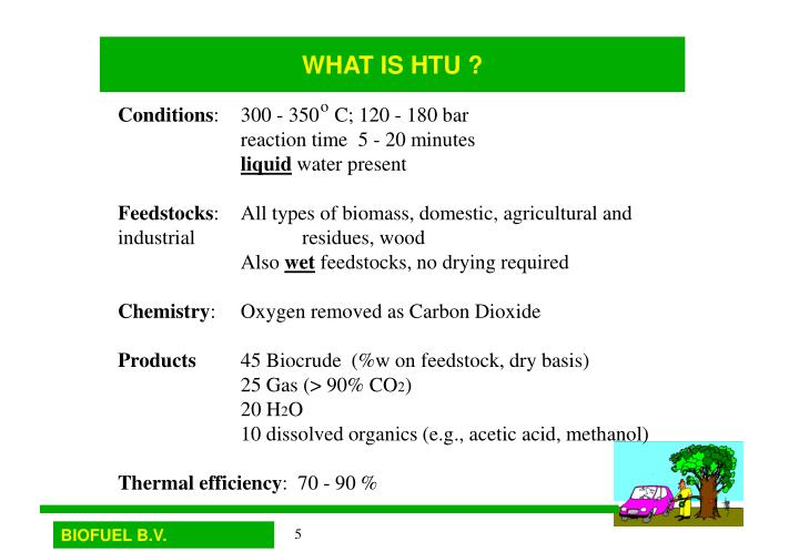 WHAT IS HTU ?
