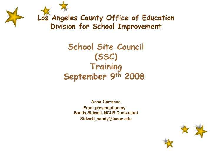 Los Angeles County Office of Education