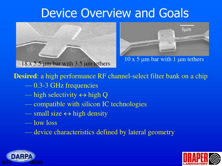 Device Overview and Goals