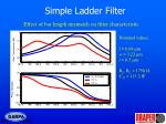 simple ladder filter1