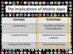 the implications of mobile apps1