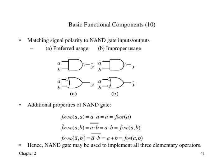 Basic Functional Components (10)