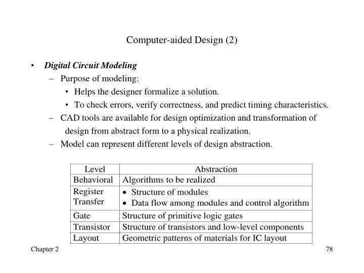 Computer-aided Design (2)
