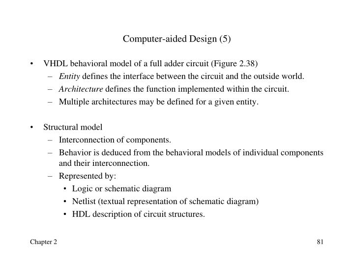 Computer-aided Design (5)