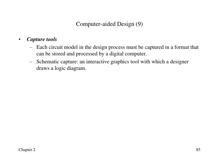 Computer-aided Design (9)