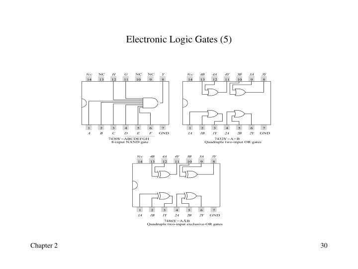 Electronic Logic Gates (5)