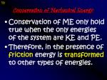 conservation of mechanical energy1