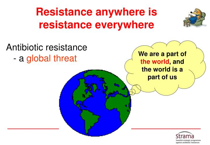 Resistance anywhere is resistance everywhere