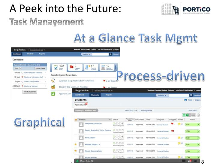 At a Glance Task Mgmt