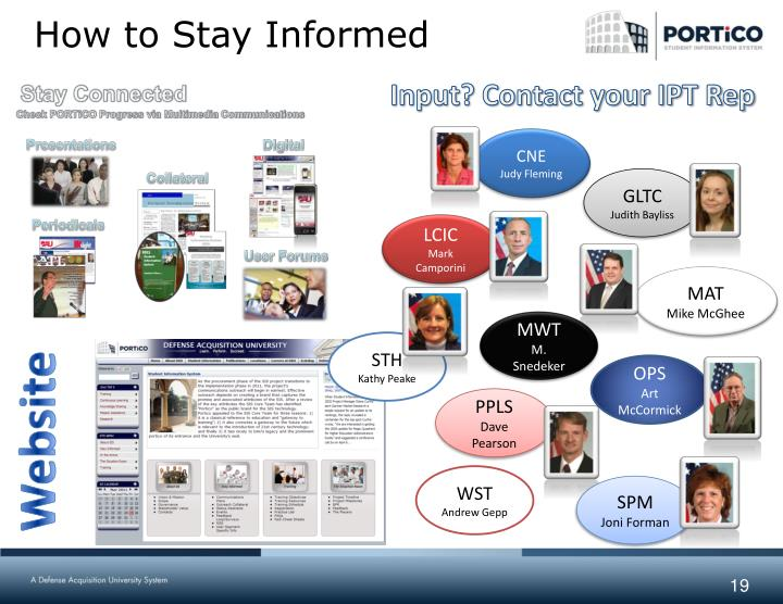 How to Stay Informed