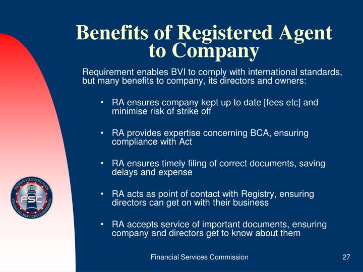 Benefits of Registered Agent