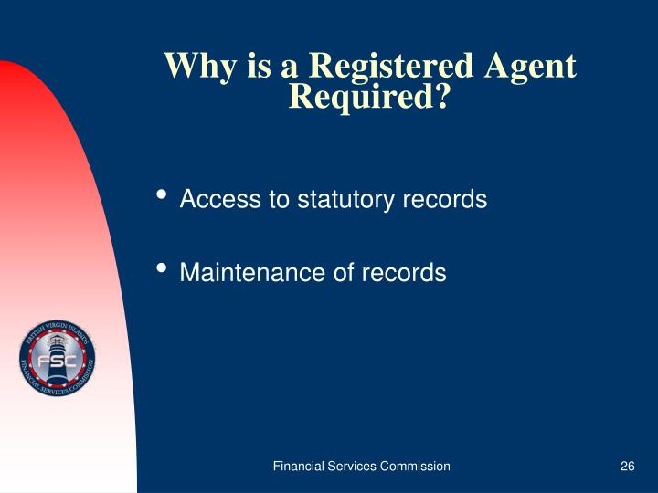 Why is a Registered Agent Required?