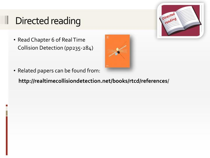 Directed reading