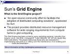 sun s grid engine
