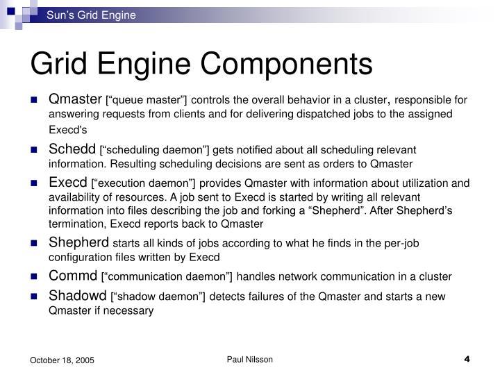 Sun's Grid Engine
