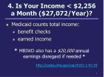 4 is your income 2 256 a month 27 072 year