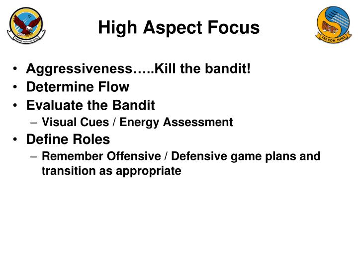 High Aspect Focus