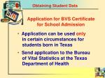 obtaining student data2